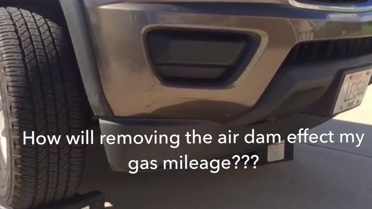 2nd Generation Chevy Colorado Gas Mileage Air Dam Removal ...