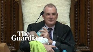 New Zealand speaker feeds MP's baby during parliament debate