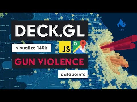Visualize 140k Gun Violence Incidents with Deck.gl & Google Maps thumbnail