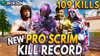 *NEW* SCRIM KILL RECORD (109)  (Broke AMK's Previous Record)
