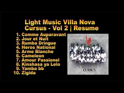 LIGHT MUSIC VILLA NOVA x FABREGAS METIS NOIR | ALBUM *CURSUS* VOL 2