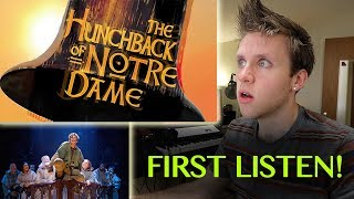 HUNCHBACK OF NOTRE DAME the Musical | REACTION