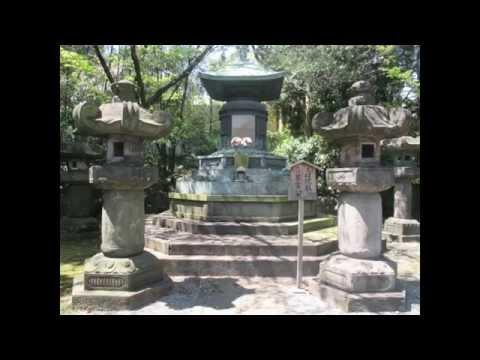 【徳川将軍家墓所】 The grave of the Tokugawa shogunate family