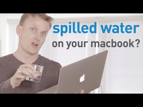 Spilled Water On Your MacBook? Do This FIRST!!!