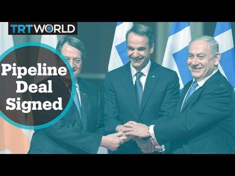 Eastmed Pipeline Deal: Greece, Israel and Greek Cypriot leaders sign agreement