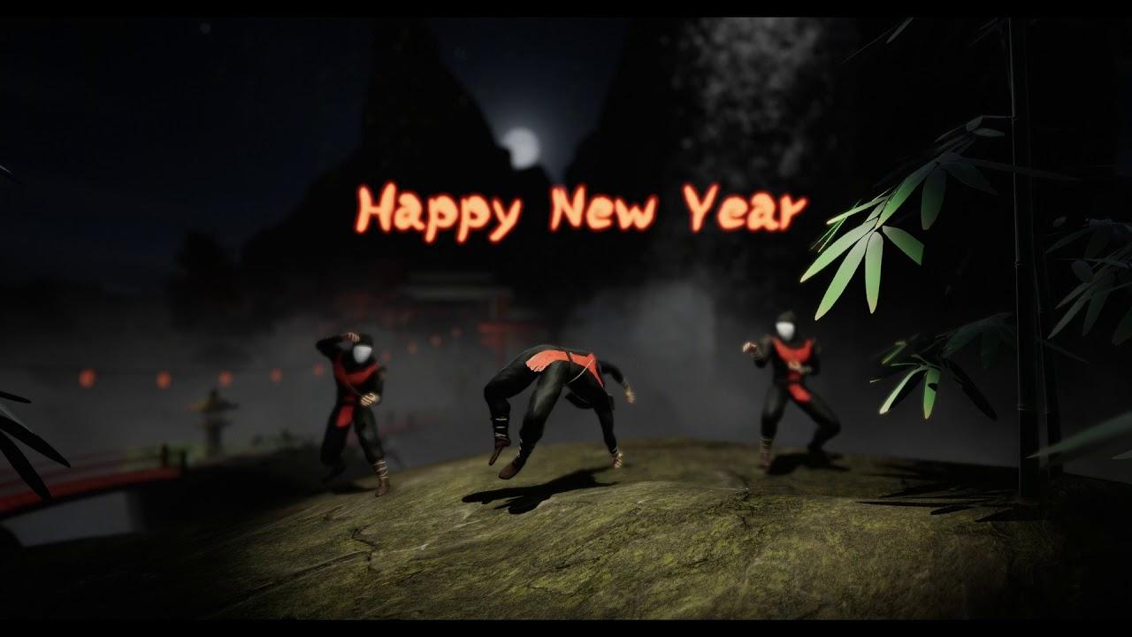 Happy New Year Ninjas! 2018 - YouTube