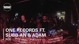 One Records ft. Subb-an & Adam Shelton Boiler Room DJ Set at ADE