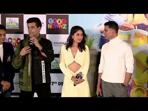 Karan Johar & Akshay Kumar speak about #GoodNewwz | In cinemas 27th Dec Mp3