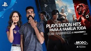 MODO PLAYSTATION #10 | PLAYSTATION HITS PARA A FAMÍLIA TODA (COM ANTÓNIO RAMINHOS E PASSATEMPO)