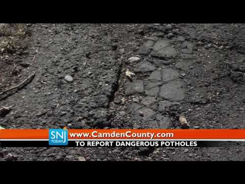 Potholes Found In Camden County Caused By Winter Weather