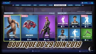 FORTNITE: Shop of June 29, NEW SKIN BIGFOOT, NEW EMOTE LIVE THE VICTORY