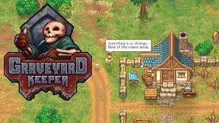 Graveyard Keeper - Medieval Cemetery Management Simulator! - Graveyard Keeper Gameplay - Part 1