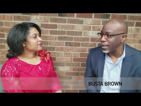 Busta Brown interviews dietitian Aries Ford about healthy eating