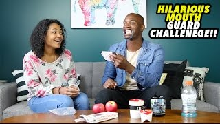 HILARIOUS MOUTH GUARD CHALLENGE!!