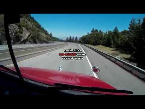 Ashland Oregon I-5 Northbound In A Truck