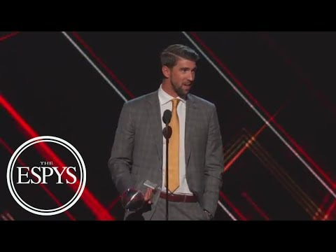 Michael Phelps Wins Best Record-Breaking Performance | The ESPYS | ESPN