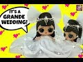 LOL Surprise Bride Doll Ariana Grande's Stunning Beach Wedding to Pete or Punk Boi ? Diy GG Custom