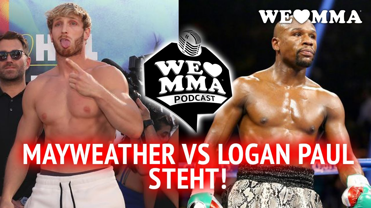 News: Floyd Mayweather vs Logan Paul ist offiziell! - YouTube