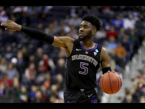 pretty nice 7b411 72d41 Jaylen Nowell highlights: Explosive Washington guard prepares for NBA Draft  after being named...