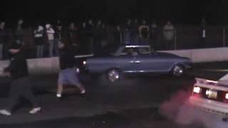 1964 Chevy II / Nova drag racing