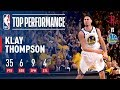 Klay Thompson s 35 Points Helps The Warriors Force A G7