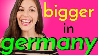 7 Things BIGGER IN GERMANY than in the USA