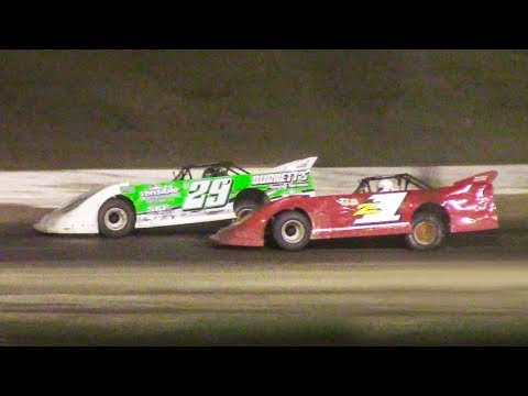Topless RUSH Crate Late Model Feature | Genesee Speedway | 9-16-18