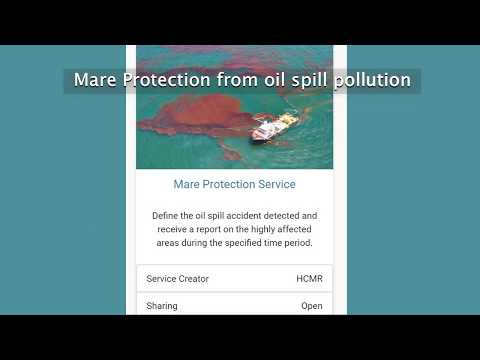 BigDataOcean service - Mare protection from oil spill pollution