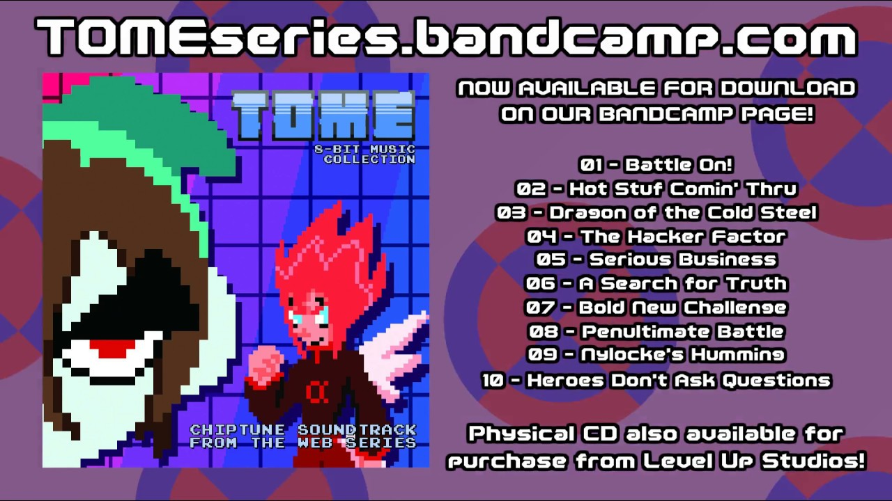 TOME 8-Bit Music Collection - Available for download on Bandcamp!