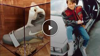 Mas de $90 mil dolares uno de los tenis que usó el actor Michael J. Fox en Back to the Future