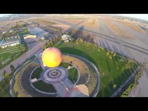 The Great Park, Irvine, California - Aerial View 9-26-2014