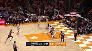 Auburn Men's Basketball vs Tennessee Highlights
