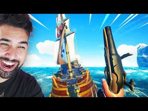 Sea of Thieves | STEALING A PIRATE SHIP - Part 4