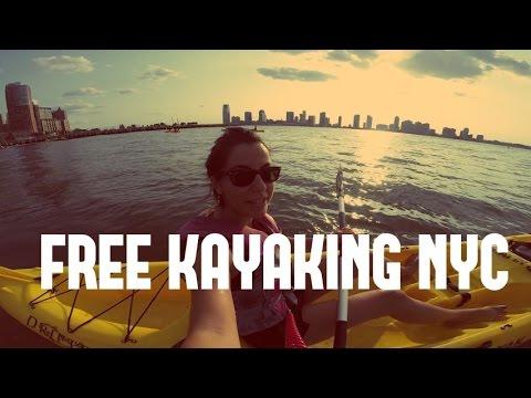 Free Kayaking in New York, Hudson River Activities