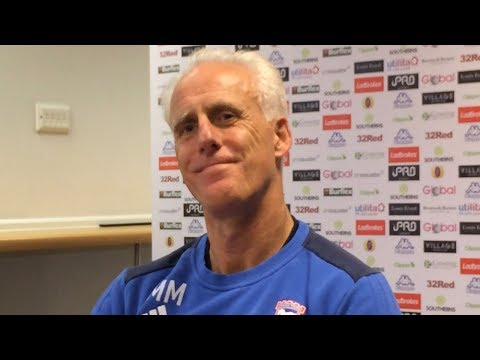 Mick McCarthy after Ipswich's loss to Leeds 3-2