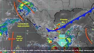 #Atención Población veracruzana: #AlertaGris por #FrenteFrío 1 y Norte #xalapa #veracruz