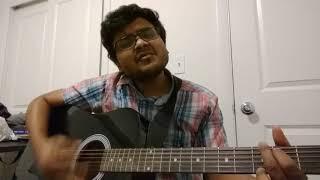 Avalukkenna azhagiya mugam - guitar cover