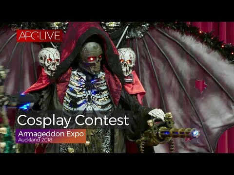 Armageddon Expo Auckland 2018 - Cosplay Contest [#APGLive]
