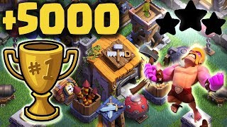 Builder Hall 6 Base 2018 Best Coc Bh6 Base With Replays Anti All Troops Anti Witch Clash Of Clans