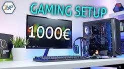 1000€ Gaming Setup | Ein BEZAHLBARES Setup MIT Gaming PC!!!