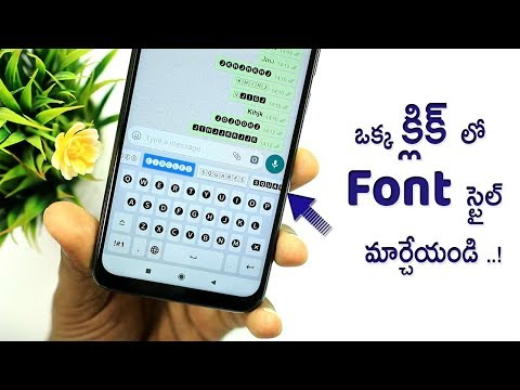 How To Change Font Style On Any Android (NO ROOT) | Font Style On Mobile