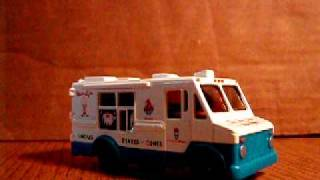 Diecast Mr. Softee Truck