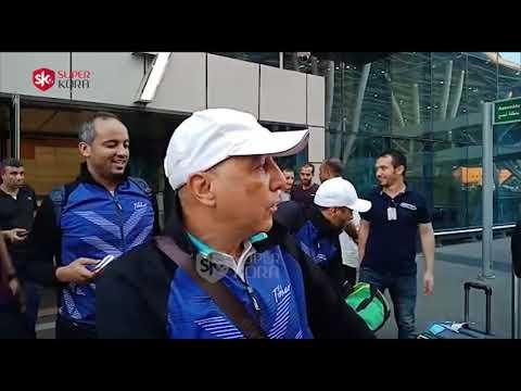 وصول فريق سيدات تنس طاولة الزمالك بعد حصد البطولة العربية  - 06:54-2019 / 9 / 11