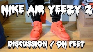 "Nike Air Yeezy 2 ""Red October"" Discussion & On Feet"