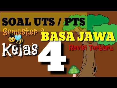 Latihan Soal UTS Bahasa Jawa Kelas 4 SD / MI Semester 2 Terbaru