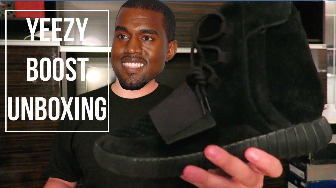 94e3d183e4692 Triple Black Yeezy Boost 750 Unboxing + Review! - YouTube