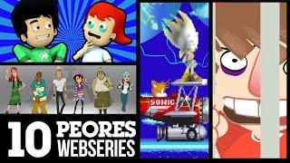 10 Peores Series Animadas de Internet | LA ZONA CERO
