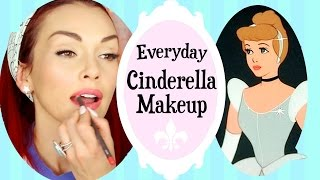 Everyday Disney Princess Cinderella Makeup | Kandee Johnson