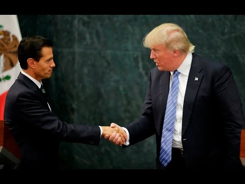 Trump in Mexico: Skirting around the wall?