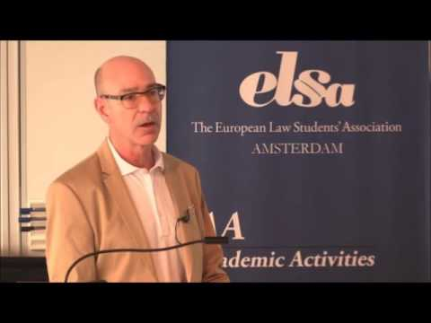 ESIL LECTURE: James Hathaway, 'Fixing the Refugee System'